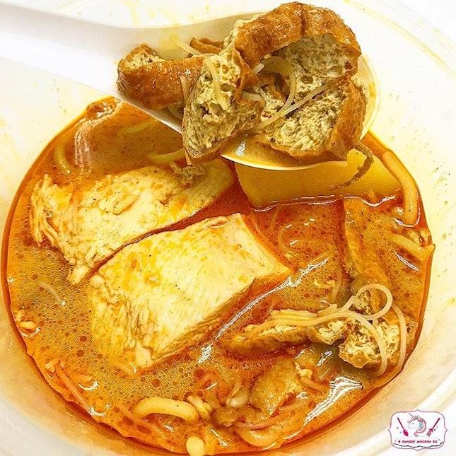 Ah Heng Curry Chicken Bee Hoon Mee.