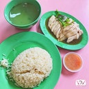 海南起骨鸡饭 Hainanese Boneless Chicken Rice.