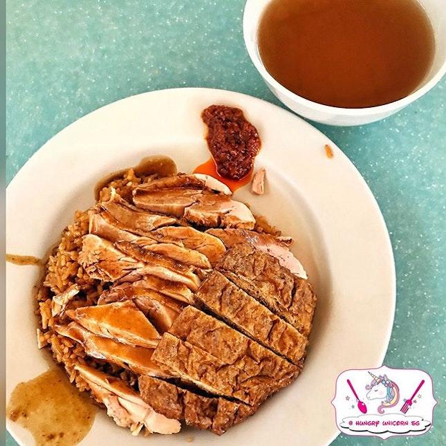 Cai Ji Boneless Duck Rice Porridge.