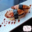 Foie Gras & Scallop Sushi