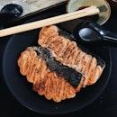 Salmon Mentai Don