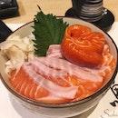 Salmon Sashimi Don (RM50+)