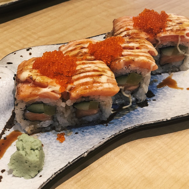 Grilled Salmon Roll (RM20+)