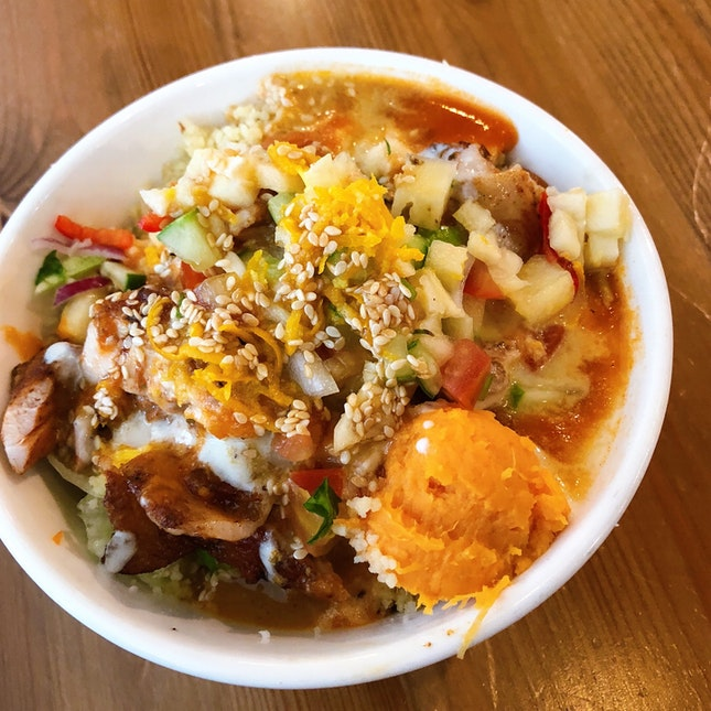 Mixed Salad Bowl With Chicken Thigh (RM13+)