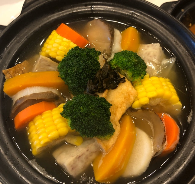 Vegetable Hot Pot (RM36)