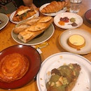Assortment Of Pastries & Bread