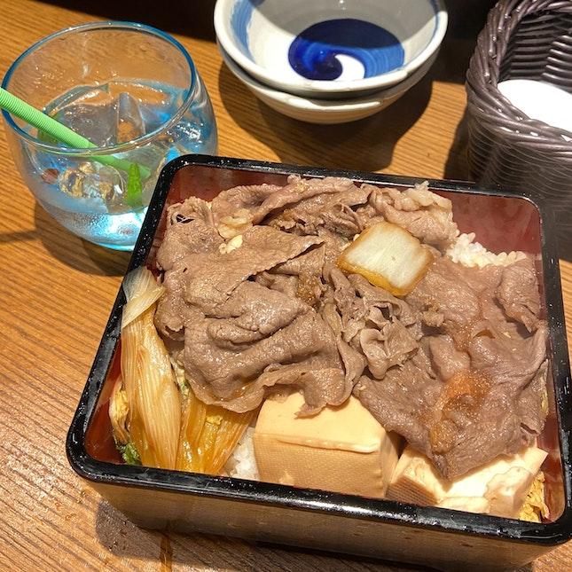 Wagyu Sukiyaki Ju
