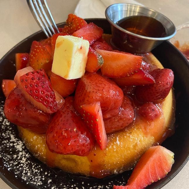 Strawberry Maple Pancake