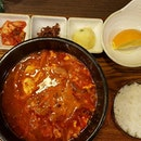 Spicy korean for lunch today!