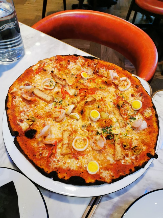 Laksa Pizza
