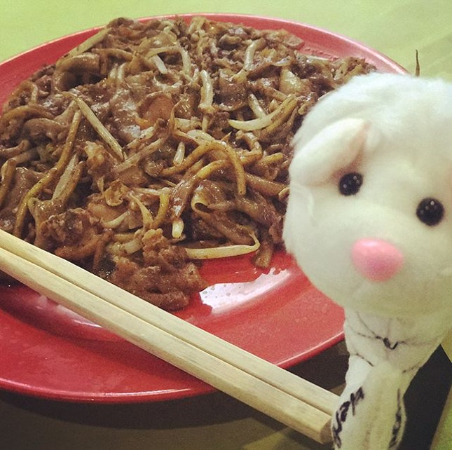 This stall serves authentic and good Cha Kuay Teow.