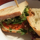 Smoked Salmon Sandwich ($15)