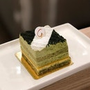 [Matcha Opera-$8.80]  Ordered this because well, matcha💁🏻‍♀️ but I was actually quite disappointed because I felt that the cake really left my tastebuds longing for more.