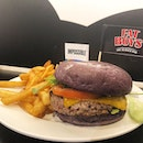 """The Impossible Burger ($18) which supposedly achieves the impossible-mock meat tasting like actual meat🤔 Decided to give this a go to satisfy my curiosity regarding the hype over this  impossible """"meat""""."""