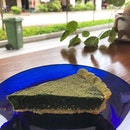 [Matcha Tart-$7.50]  Absolutely loved the thick and dense texture of this tart, though it does get a little dry.