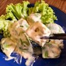 Ume mayo avocado salad