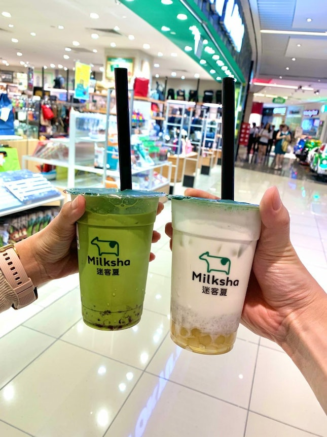 Matcha and milk is meant to be