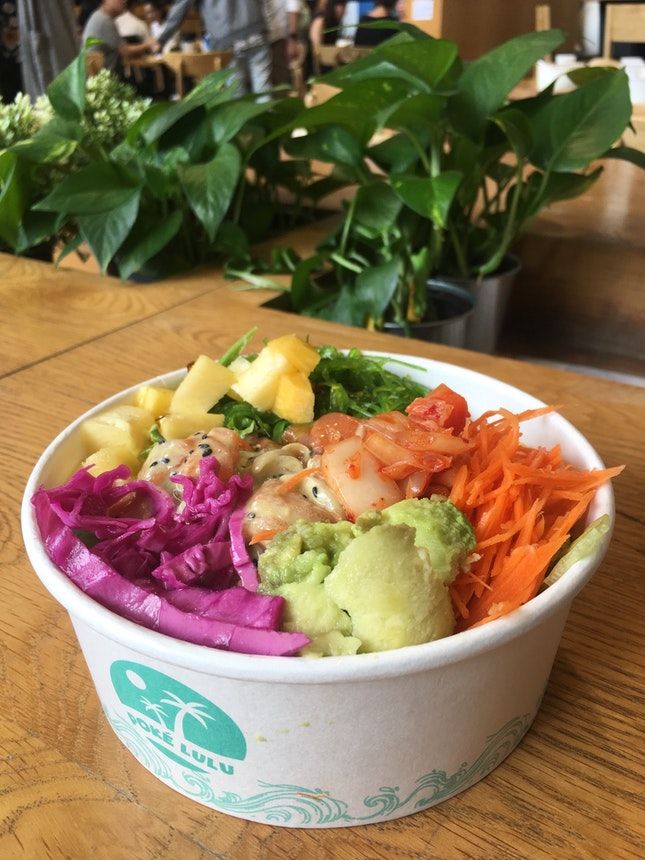 Fresh Poke Bowls With Unlimited Self-Service Pickles & Dressings!