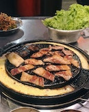 KBBQ cravings satisfied with wangdaebak's set B menu at $48++ (perfect for 2 pax)!