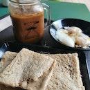 Earl Grey toast + Mocha