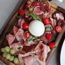 Antipasto Platter at @in_piazza_italian_restaurant .