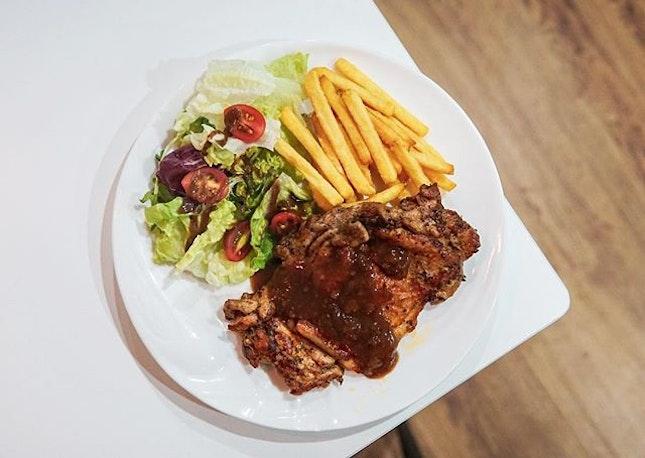 BBQ Chicken Chop ($12.90)