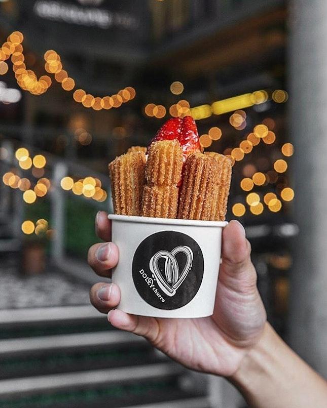 Churro Cupcake (THB125/ S$5.30)