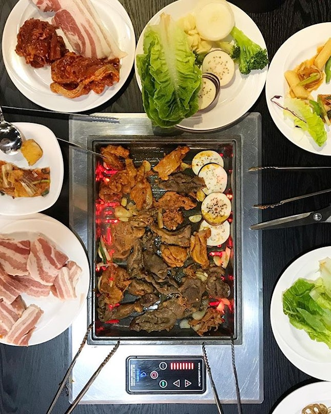 Been 3 times having @imkimkoreanbbq in this last 3month as it has wide selection food in buffet style.
