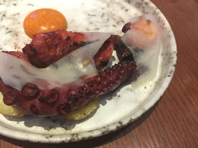 Aus Fremantle Grilled Octopus Tentacle ($15.90)