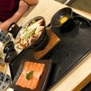 Salmon Sukiyaki <$20