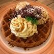 Nyonya Chendol Waffle