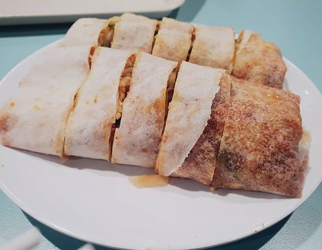 Hawker Special: Ofanz Popiah 🌯🌯 one of the most traditional but fast-disappearing local foods!!