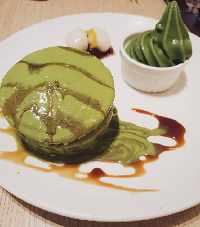 we loved this maccha cheese dorayaki!!