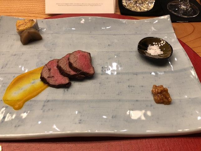 Kumamoto Wagyu Beef, Horikawa-gobo