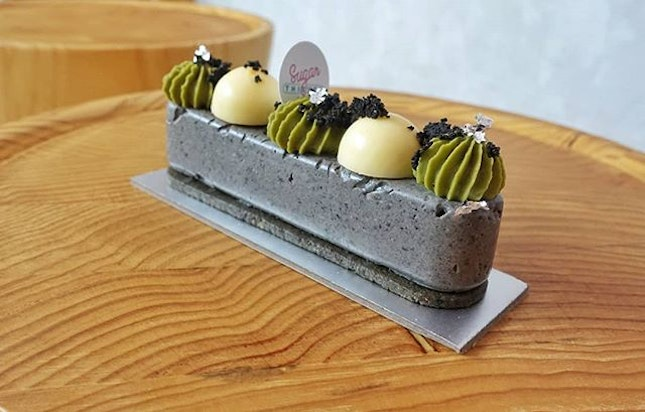 SUGAR THIEVES, LITTLE TOKYOGOMA MOUSSE, COCONUT MOUSSE, YUZU CURD, MATCHA WHIPPED GANACHE, GOMA SABLE $S9.00Are you a fan of Goma?
