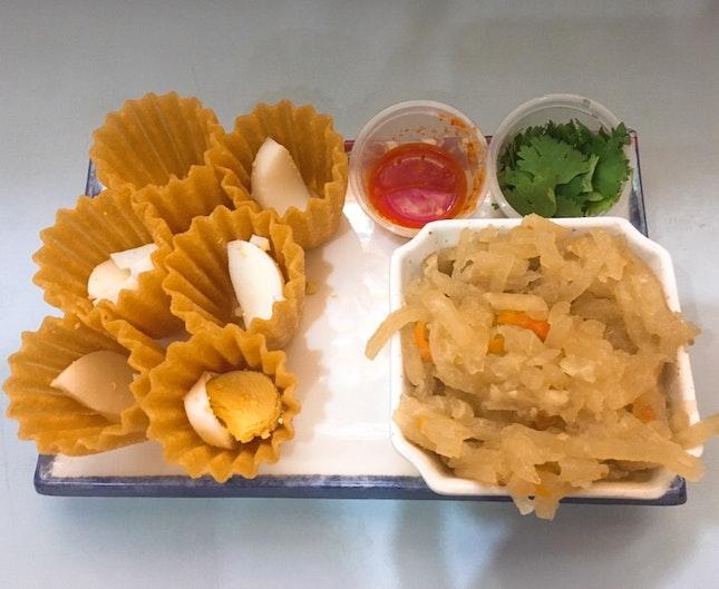 Kuih Pie Tee ($4.80)