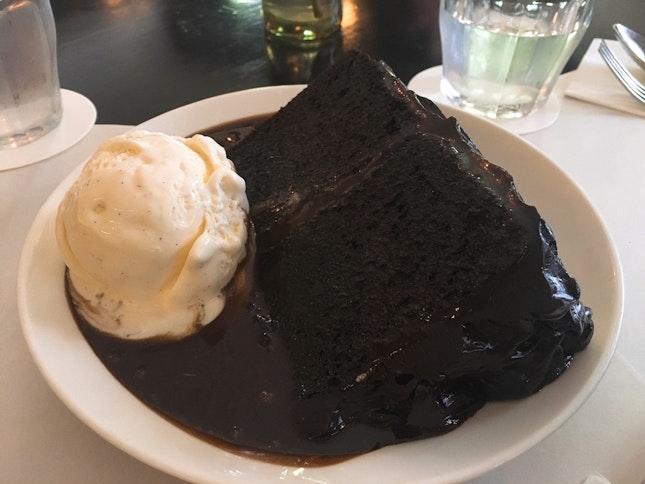 Double Chocolate Blackout Cake ($16)