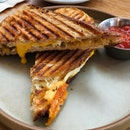 Grilled Cheese Sandwich ($15)