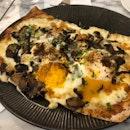 Truffle Fungi Tarte Flambé ($22)