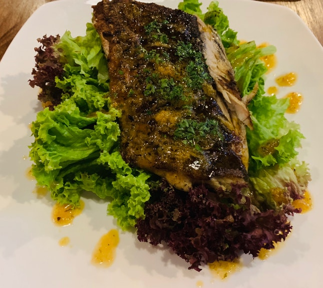 Pan Seared Sea bass $18