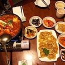 👉Kimchi Stew && Oyster Pancake👈