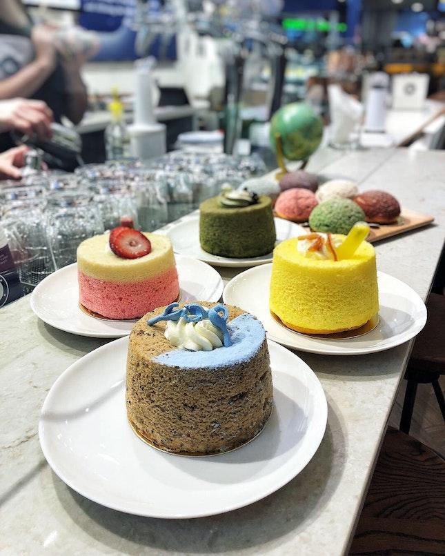 👉Chiffon Cakes && Tea Puffs👈
