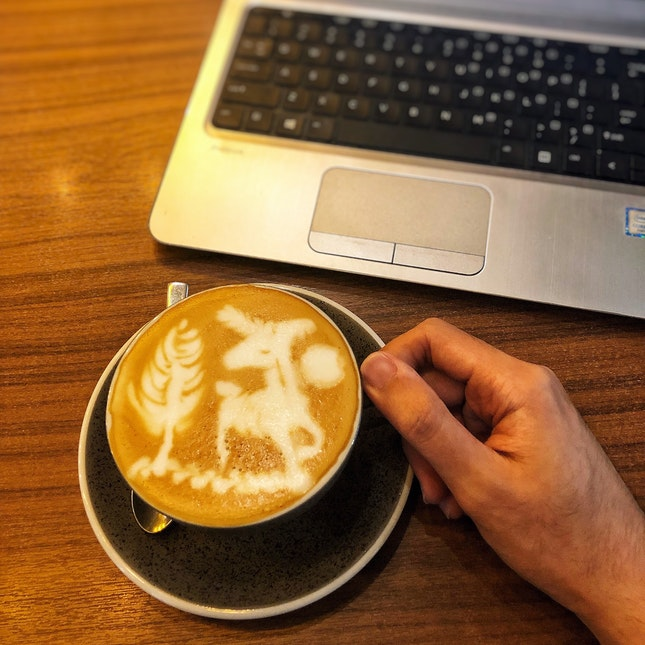 👉Unicorn Coffee Art👈