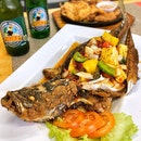 👉Deep Fried Seabass with Three Flavours👈