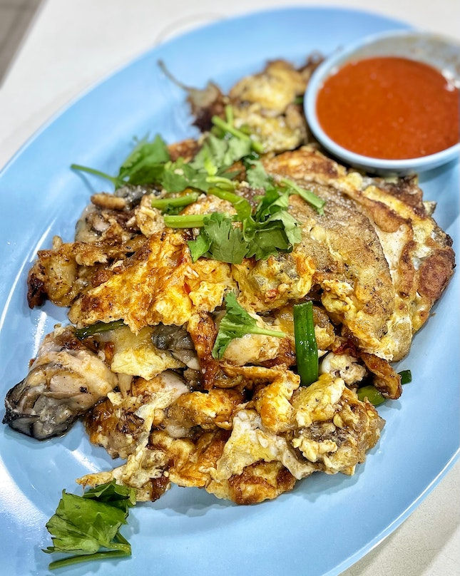 Tag someone who is a fan of Fried Oyster Omelette aka Orh Luak!😋