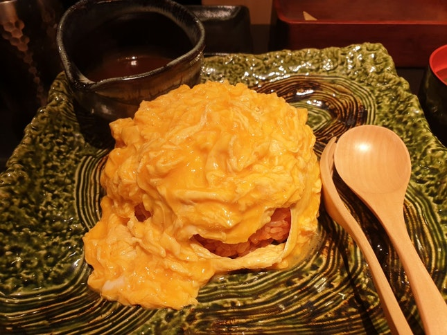 Omurice Demi Glaced