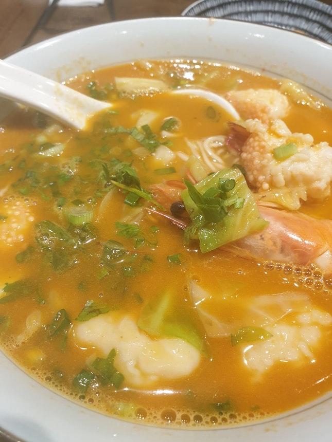 Everything Shrimp Ramen