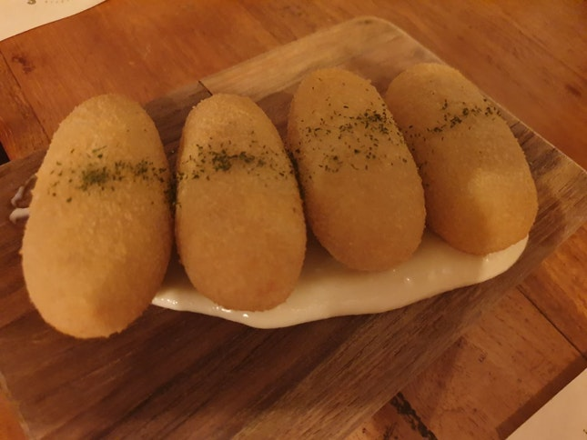 More Than Just Potato & Ham Croquette