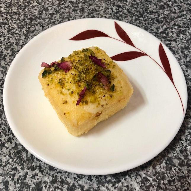 Lemon Pistachio Tea Cake ($3)
