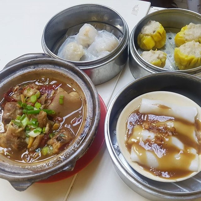 Dim Sum that doesn't hurt your wallet yet yummy.